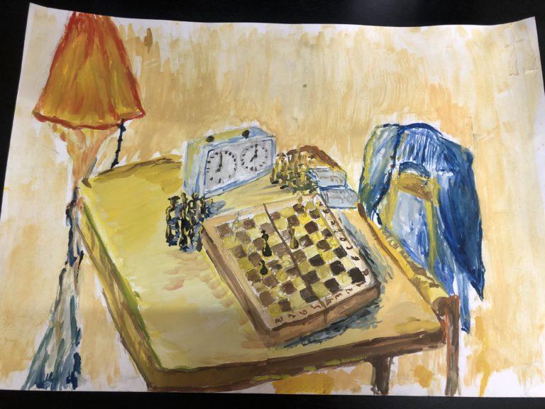 Подведены итоги конкурса рисунков к «Международному дню шахмат»